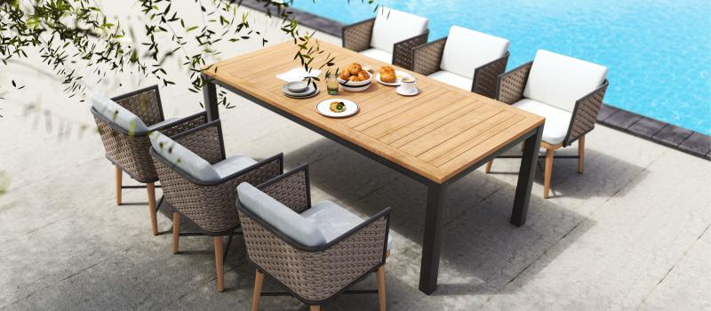 2 Ways to Decorate Your Patio with Our Favorite Dining Sets